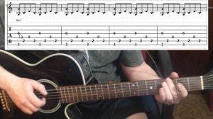 G Chord- Fingerpicking Pattern 2